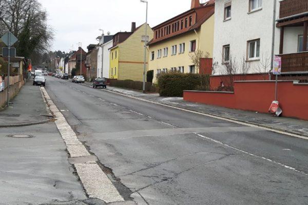 Kaputte Straßen in Taunusstein
