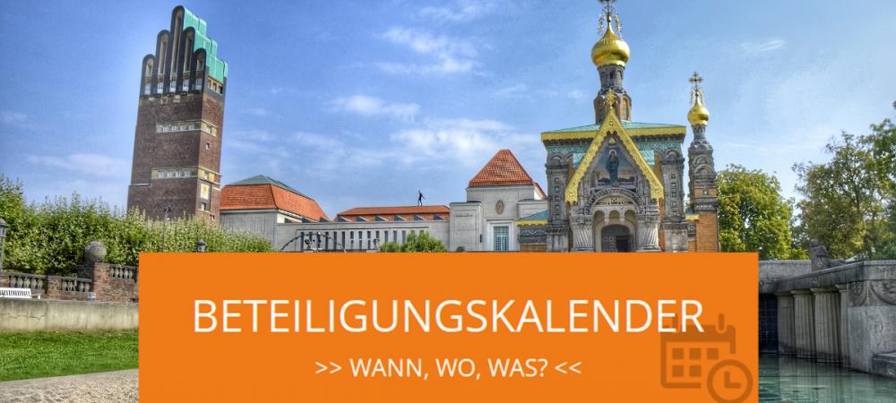 Beteiligungskalender in Darmstadt