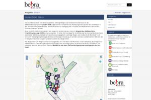 Ansicht Beteiligungsplattform Bebra baut Zukunft