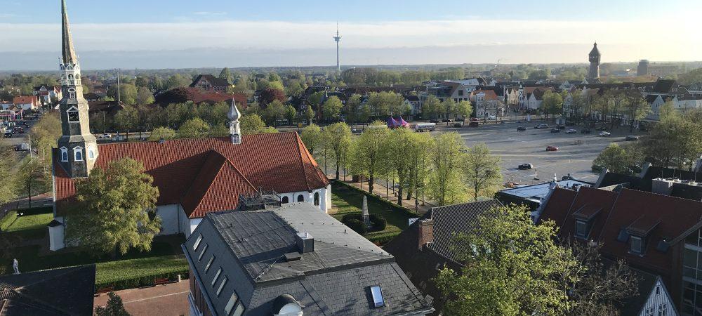 Stadt Heide - Stadtansicht