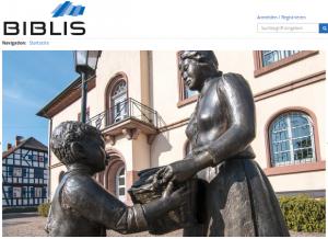 Screenshot der Plattform stadtumbau.biblis.eu