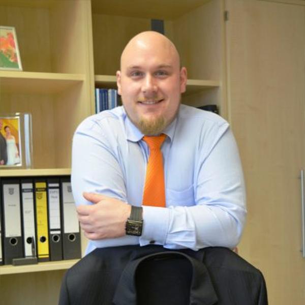 Olaf Burmeister-Salg, Abteilungsleiter der Gemeinde Münster/Hessen für die Bereiche Wirtschaftsförderung, Kultur, Sport und Soziales