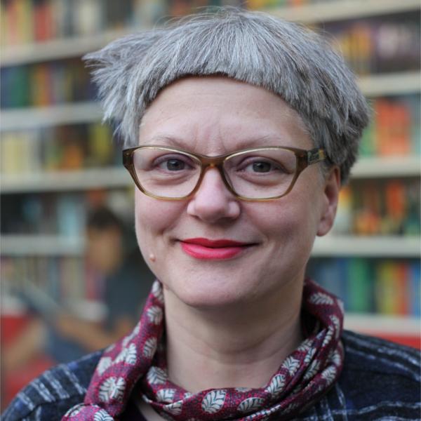 Foto Susanne Radmann, kommissarische Bürgerbeauftragte der Wissenschaftsstadt Darmstadt