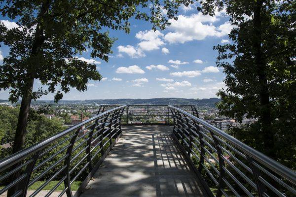 Ansicht von Wuppertal; die Stadt erarbeitet gemeinsam mit der Bürgerschaft in Klimaschutzkonzept