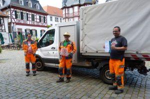 Auszeichnung zur Saubermacher-Stadt 2020: Die Stadt Heppenheim ist erneut Preisträgerin der Auszeichnung von mängelmelder.de und der wer denkt was GmbH