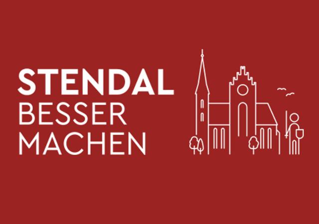 """Logo des Projekts """"Stendal besser machen"""". Auf der Online-Plattform stendalbessermachen.de können die Bürger ab sofort ihre Ideen für die Stadt eintragen."""