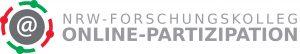 Logo Forschungskolleg Online-Partizipation NRW